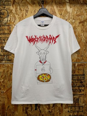 """Pizza delivery baphomet"" T-shirt"