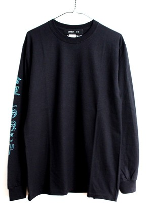 LONELY論理#9 SUGIMOTO RESPECT LONG SLEEVE / BLACK