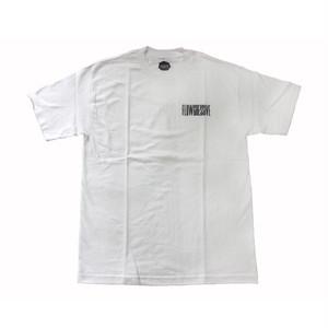 FLOWGRESSIVE LOGO S/S TEE WHITE