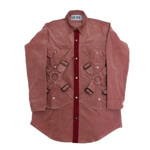 ダブルパラシュートシャツ  PINK