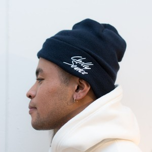 Chilly Knit Cap 【Navy】