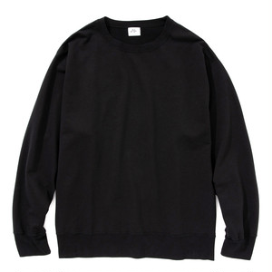 "Just Right ""LW Urake Crewneck"" Black"