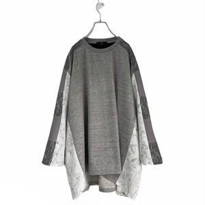 【オーダー分】Wide-T-shirts (grey)