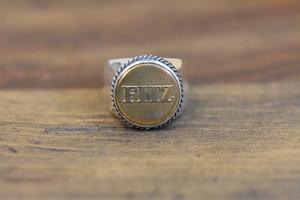 19号BUTTON WORKS x LARRY SMITH WORK Button Ring #9