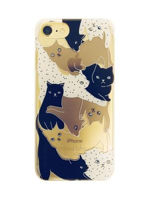 【iPhone6&7&8専用】CATS BLACK