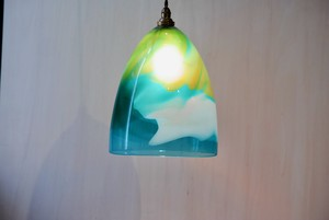 Lampshade / blue mix B
