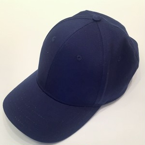 National Solid 6 Panel Cap Navy