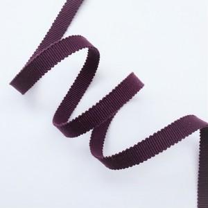 【帯締め】真田紐 紫