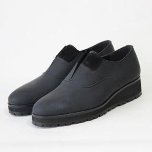 steer×nuback slip-on/BLK,GRY/l.o.b【受注生産】