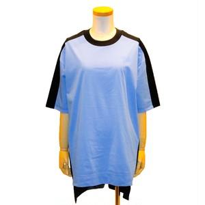 ワイスリー (Y-3) バイカラーTEE ブラック ブルー