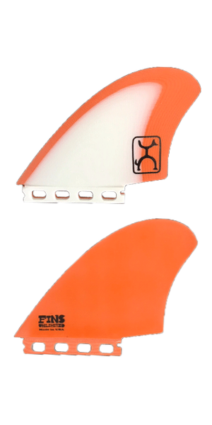 Rob Machado KEEL FIN 【WHITE×ORANGE】