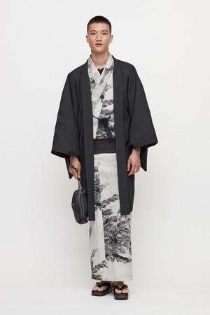羽織 / 120's ウールトロピカル / Charcoal(With tailoring)