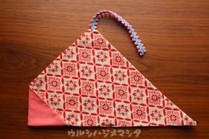 リバーシブル箸袋(桃色×着物・桃) / REVERSIBLE CHOPSTICKS BAG(Pink * Kimono/Pink)