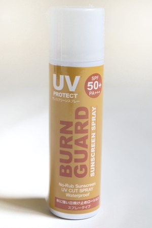 BURN GUARD SUNSCREEN SPRAY SNIPE SPORTS COSMETIC