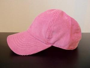 NEWHATTAN(ニューハッタン) コーデュロイ キャップ(ピンク)/ 帽子 ユニセックス