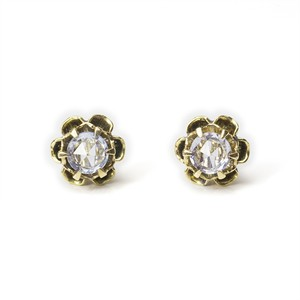 Forget-me-not Sapphire Stud Earrings