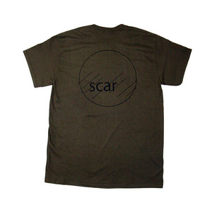 scar /////// CIRCLE TEE (Olive)