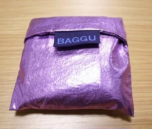 BAGGU エコバッグ メタリック パープル ライラック ベイビーサイズ