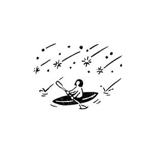 流星カヌー Canoe in the Meteors