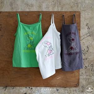 «sold out» banana j rabbit T shirt 3colors うさぎノースリーブ