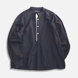 WCH 50's Style Stand Collar Shirts -Black