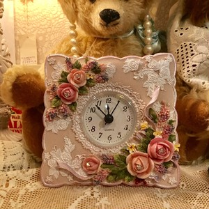 Princess Rose Room Clock