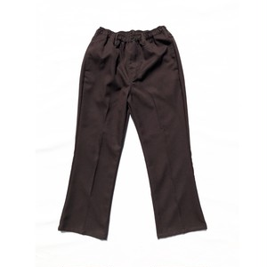 COMFORTABLE REASON / DOC SLACKS -BROWN-