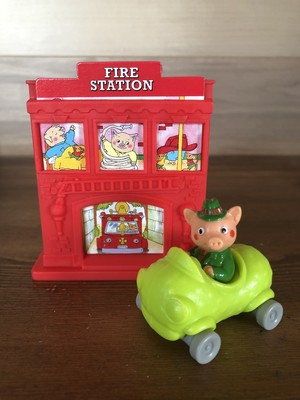 「Busy World of Richard Scarry」McDonald's Meal Toy