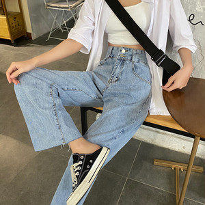 〈Ranking No.6〉デニムストレートパンツ【denim straight pants】