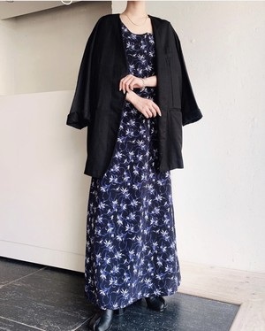floral pattern maxi onepiece