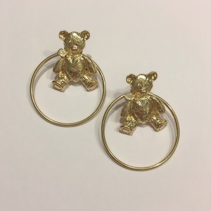bear hoop pierce