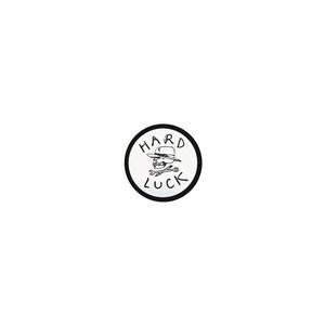 HARD LUCK - OG STICKER (White/Black) 31mm