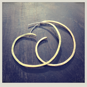 hoop earring1(pierce)