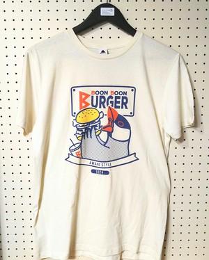 【辻佐織】文鳥ロゴTシャツ(ハンバーガー)