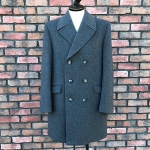 1970s Dunn & Co Double Breasted Coat Made In Britain
