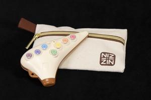 ZIN ボタン式プラスティック製オカリナ AC 10穴