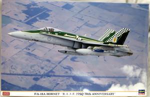 ハセガワ 1/48 F/A-18A ホーネット R.A.A.F. 77SQ 70周年記念塗装