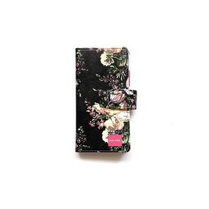 北欧デザイン iPhone手帳型ケース  | svea flower