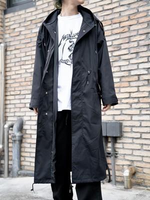 【UNISEX - 1 size】HOODED LONG COAT / 2colors