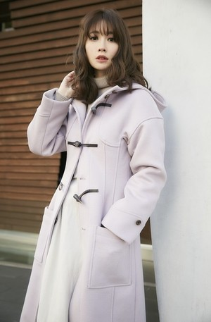 Long Fitted Duffle Coat