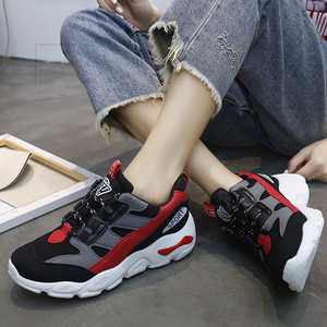 【sneakers】 2018 new sports hit color running sneakers