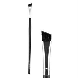 ☆眉毛ブラシ/アイライナー/シェーディングとしても使えるマルチなコースタルセンツ化粧ブラシ「クラシック アングル ライナー Lサイズ 合成」 CS-BR-C-S19