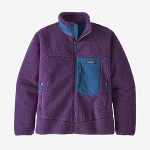 Patagonia メンズ・クラシック・レトロX・ジャケット Purple