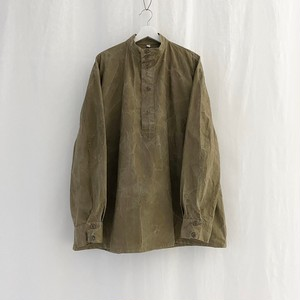 U.S.S.R.(C.C.C.P.)military vintage cotton twill stand collar smock