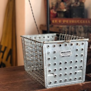 Vintage Steel Basket 203