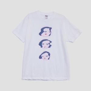 【ShiShi Yamazaki】シシフェイス Tシャツ 3連 L
