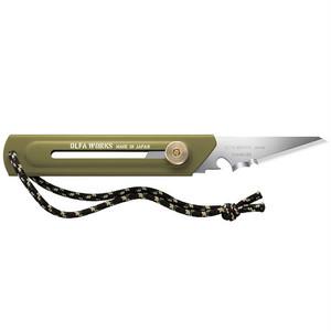 オルファワークス / 替刃式ブッシュクラフトナイフ  BK1