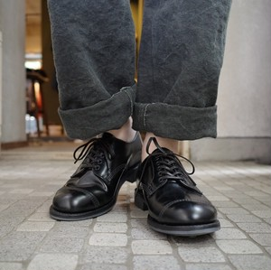 SANDERS  (サンダース) MILITARY DERBY RUBBER SHOES