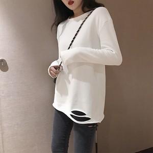 シンプルな長袖Tシャツ