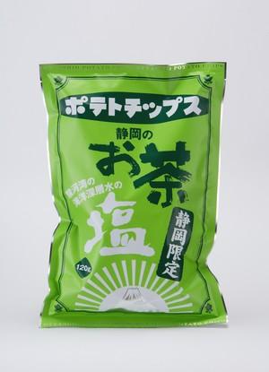 静岡限定お茶塩ポテトチップス 賞味期限9月19日